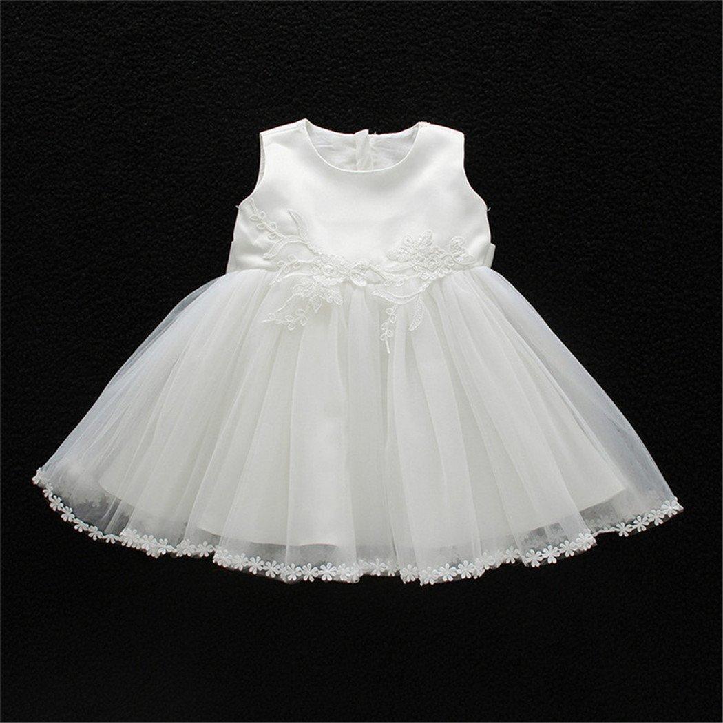Coozy Baby Girl Christening Dress Princess Party Wedding Dress Baptism Growns Dresses 3Pcs Set