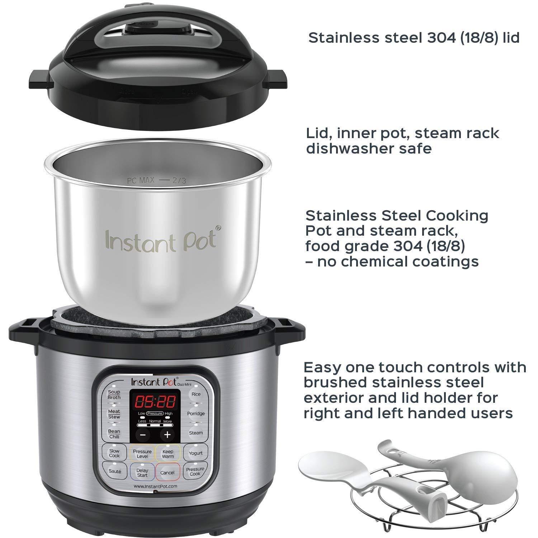 alpha-ene.co.jp Renewed Slow Cooker Instant Pot Duo Mini 3 Qt 7-in ...