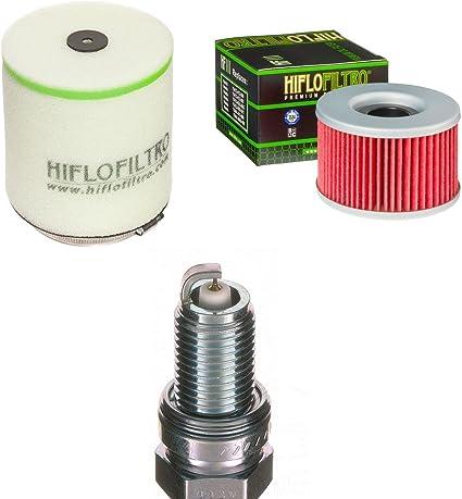 Filtro de aire Filtro de aceite Bujía Honda TRX 400 FA fourt ...