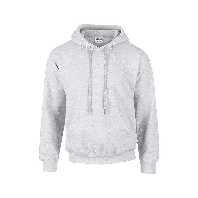 eb7a483a5086 GILDAN Heavyweight DryBlend Adult Unisex Hooded Sweatshirt Top Hoodie (13  Colours)  Amazon.co.uk  Clothing