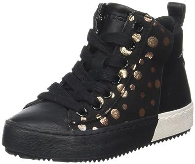 b79893d141 Geox J Kalispera Girl B Hi-Top Trainers: Amazon.co.uk: Shoes & Bags
