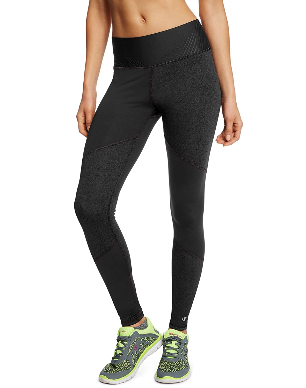 Amazon Com Champion Women S 6 2 Double Dry Performance Legging Black S Clothing