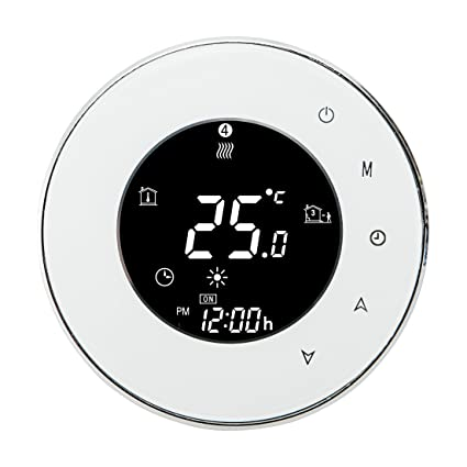 WiFi Thermostat, Programmable Touchscreen Smart Thermostat Read Humidity, Works with Alexa,Google Home