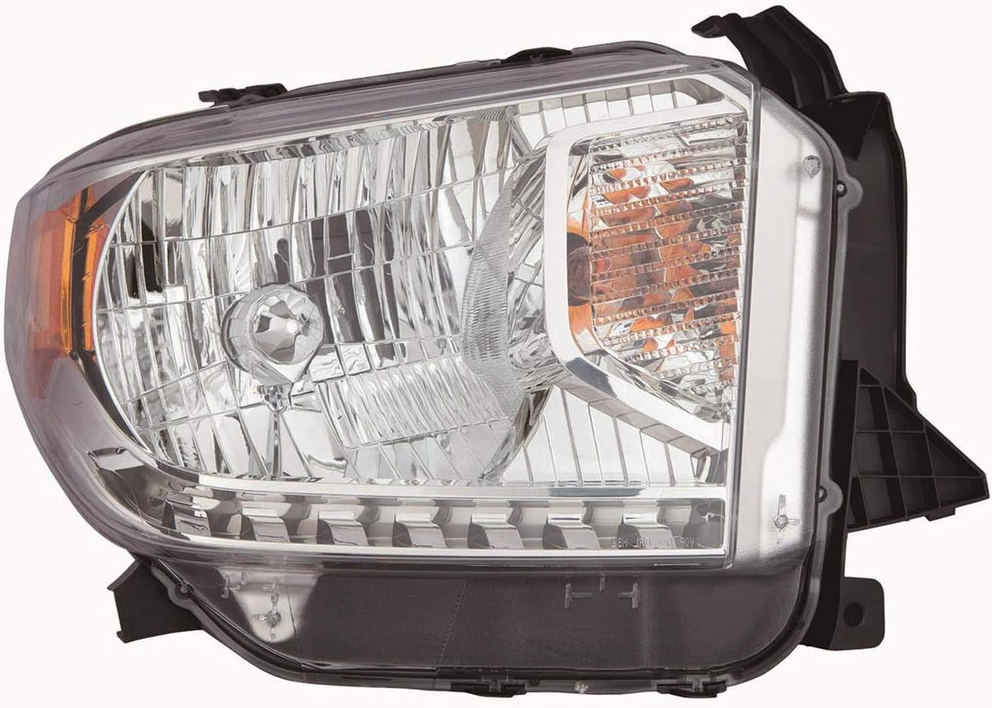 2014-2017 Toyota Tundra Passenger Side Headlight Assembly; Halogen; With Auto Level Adjuster Partslink TO2503219C