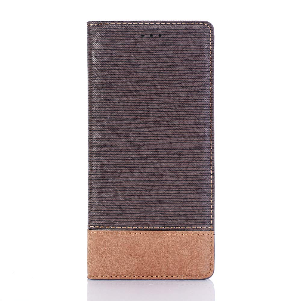 Wallet Case for Samsung Note 9,MeiLiio 6.4 inch Wallet Handbag with Card Holders Magnetic Smart Wallet Case Stand Cover for Samsung Galaxy Note 9 Women Men Boys Girls -Dark Brown