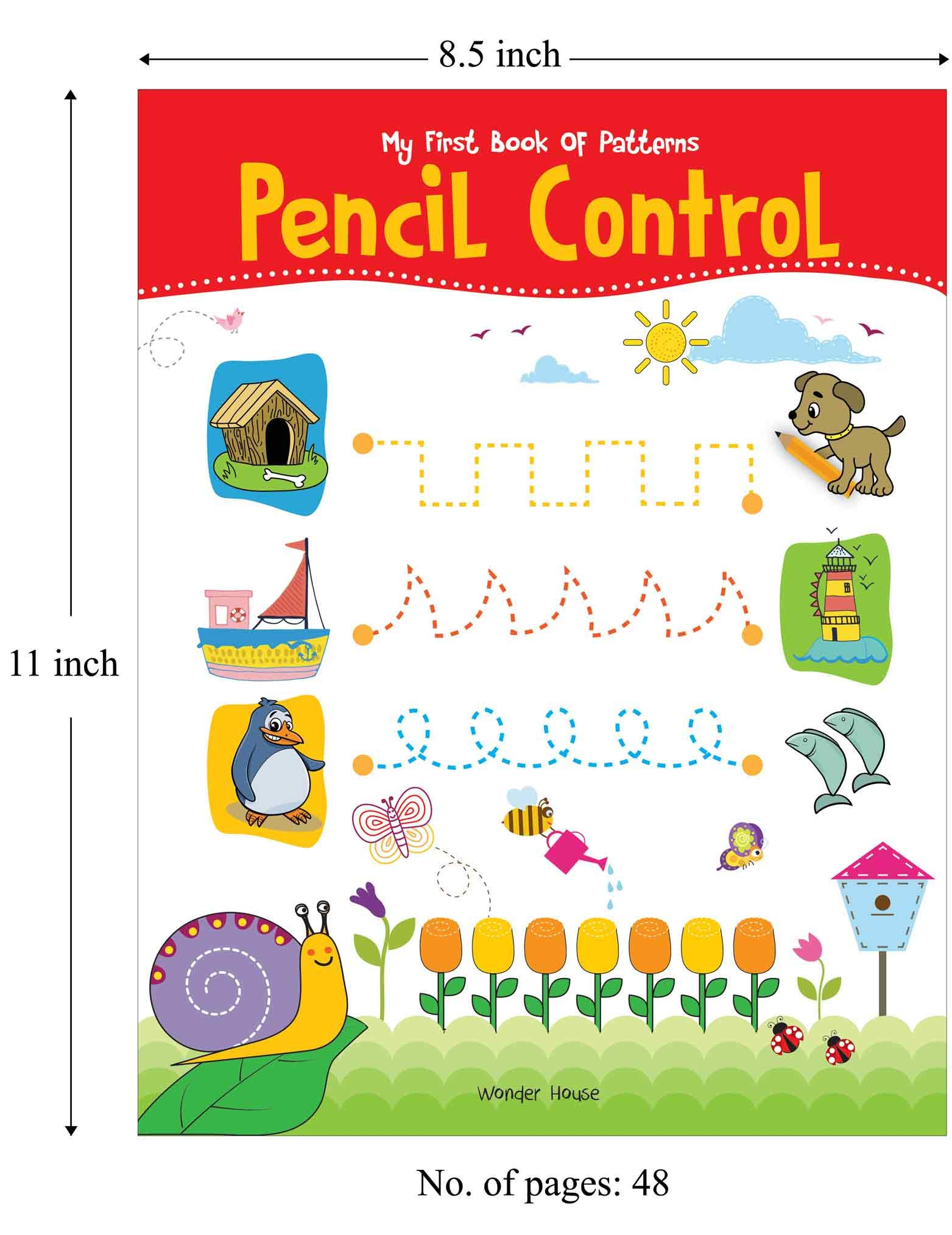 My First Book of Patterns Pencil Control: Practice Patterns