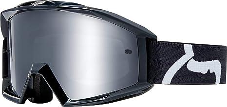 Fox Gogle Main Race Black Glass Clear Auto
