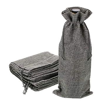 BTSKY - Bolsas de yute reutilizables y lavables para ...