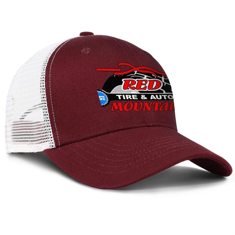 COOLGOOD Mountain Motors Auto Repair Mens Womens Mesh Back Running Trucker Hats Popular Fishing Hat