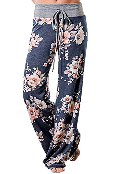 CROSS1946 pantaloni yoga da donna elastici largo sportivi  Amazon.it   Abbigliamento 8e69ea697366