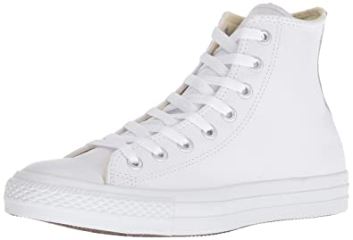 b7fd602890fc Converse Unisex-Adult Chuck Taylor All Star Core Leather Hi-Top ...