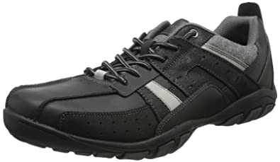 a70088bfa625 Skechers Mens Dixon Tatum Trainers Black Schwarz (BLK) Size  39 ...