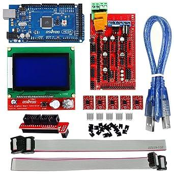 KOOKYE - Kit de impresora 3D para Arduino RepRap: Amazon.es ...