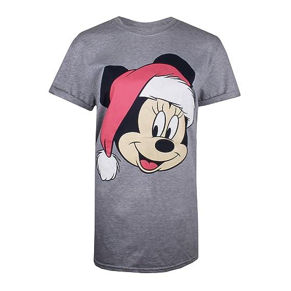 Disney Minnie Good Girl T-Shirt, Gris (Grey