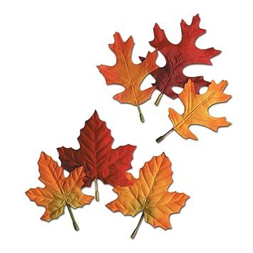 Amazon Com Autumn Leaves Kitchen Dining