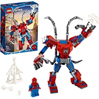 LEGO Marvel Spider-Man: Spider-Man Mech 76146 Kids' Superhero Building Toy, Playset with Mech and Minifigure