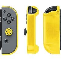Nintendo Switch Joy-con Armor Guardias (paquete de 2)–Amarillo y Negro