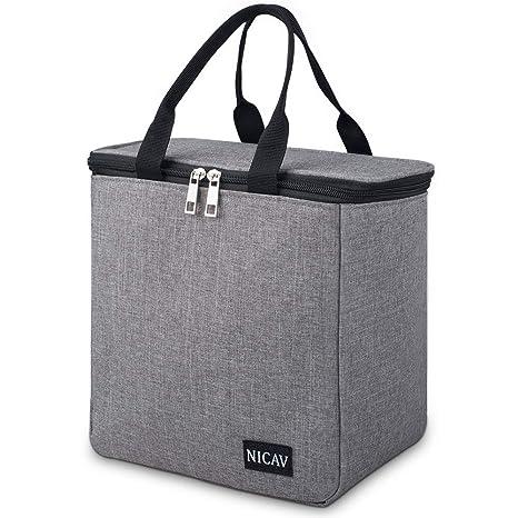 Amazon.com: Nicav - Bolsa térmica para el almuerzo, para ...