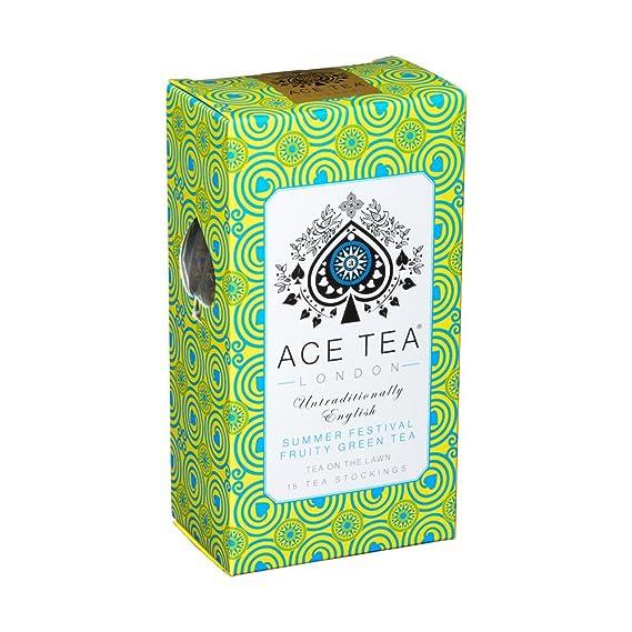 Bolsas de té verde festival de verano afrutado de Ace Tea ...