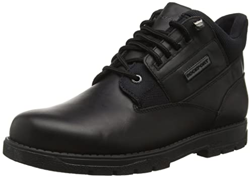 Rockport Men's Treeline Hike Plain Toe Ankle Boots, Black (Black), 7 UK