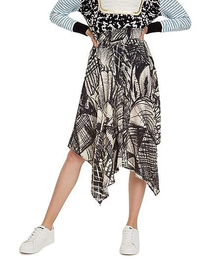 Desigual Skirt Kingsley Falda para Mujer: Amazon.es: Ropa y accesorios