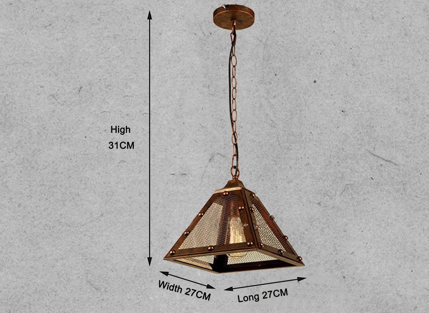 Plafoniere Industriali Vintage : Glighone lampadario vintage per soffitto lampada a sospensione retro