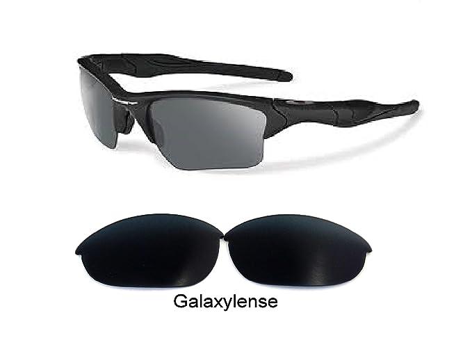 galaxylense Hombre Lentes De Repuesto Para Oakley Half Jacket 2.0 Gafas De Sol Polarizadas Negro