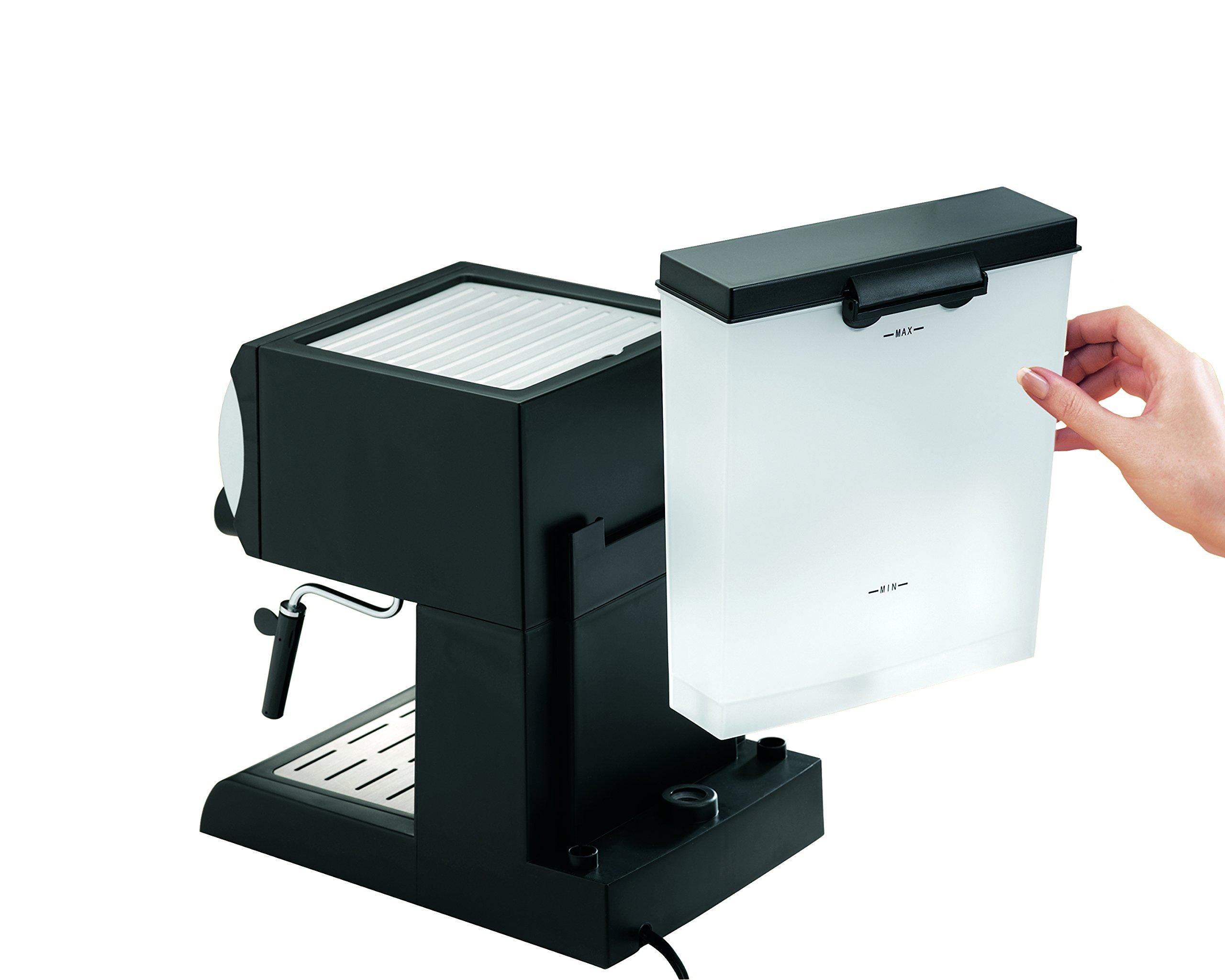 Hamilton Beach Espresso Machine with Steamer - Cappuccino, Mocha, Latte Maker (40715) by Hamilton Beach (Image #4)