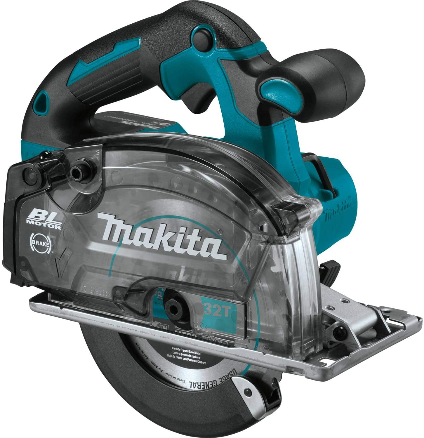 Makita XSC04Z 18V LXT Lithium-Ion Brushless Cordless 5-7 8 Metal Cutting Saw