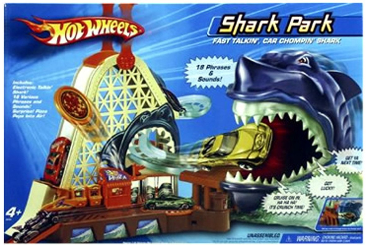 Hot Wheels Kid Pick Shark Park Set