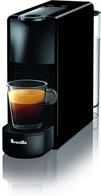 Breville-Nespresso USA BEC220BLK1AUC1 Nespresso Essenza Mini Espresso Machine