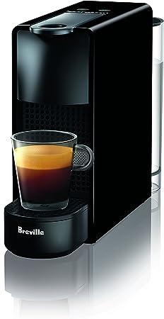 Breville-Nespresso USA BEC220BLK1AUC1 Nespresso Essenza Mini Espresso Machine, Piano Black