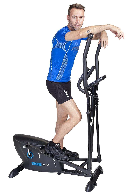 FYTTER Bicicleta Elíptica Crosser Cr-4X Negro: Amazon.es: Deportes y aire libre