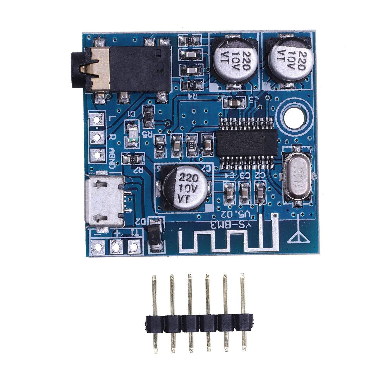 SODIAL 4.1 Bluetooth Mp3 Ble Decoder Module Modulo Lossless Car Speaker Audio Amplificatore di Potenza Amp Modifica Ricevitore Audio Fai-da-Te