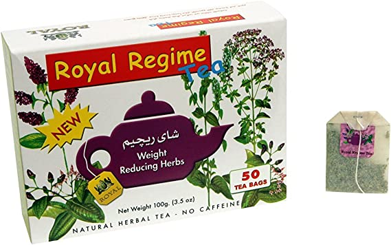 Royal Regime Tea For Weight Loss - Pack of 50 sachets: Amazon.es: Electrónica