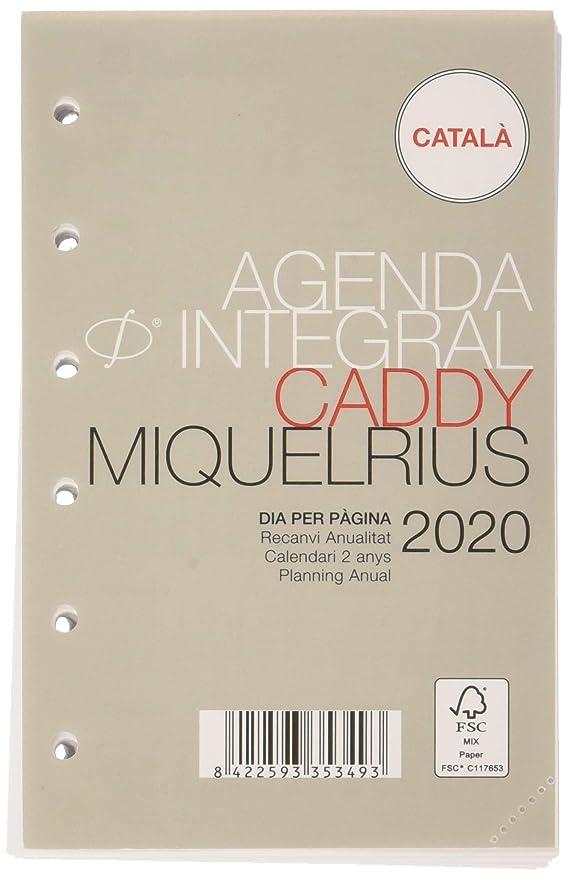 Miquelrius 35348 - Agenda 2020 recambio anualidad integral ...