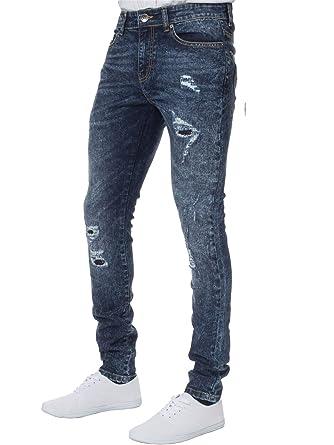 051b1f240d060 Nouveau Pantalon Jean Denim Mode pour Homme Enzo Extensible ...