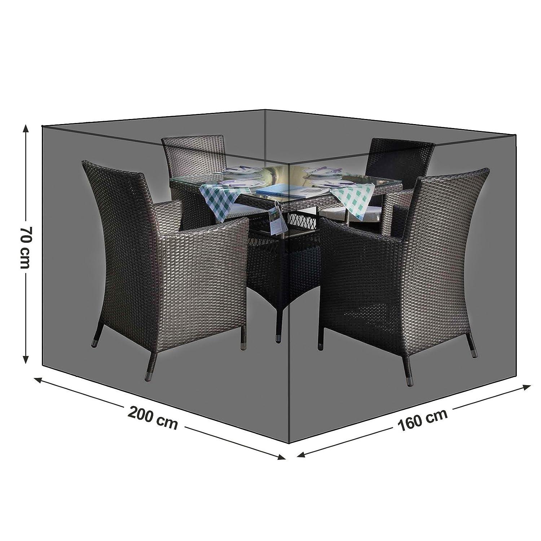 SONGMICS Schutzhülle Für Gartenmöbel, 170 X 100 X 70 Cm, Abdeckeplane Für  Tisch Und Stühle, Outdoor, ...