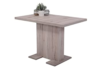 Säulentisch Holz apollo 007551 esstisch britt esstisch holz sandeiche ausziehbar