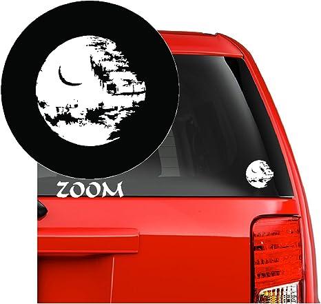emblem DEATH STAR STAR WARS Bumper Sticker Window  Laptop Car Truck Decal Vinyl