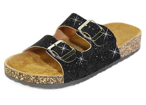 | H2K Slide Sandals For Women, Women's Summer