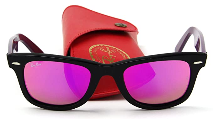 Amazon.com: Ray-Ban RB2140 Original Wayfarer bicolor Unisex ...