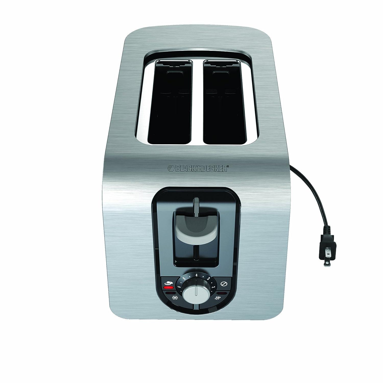 Black & Decker TR3340S 2-Slice Toaster, Silver