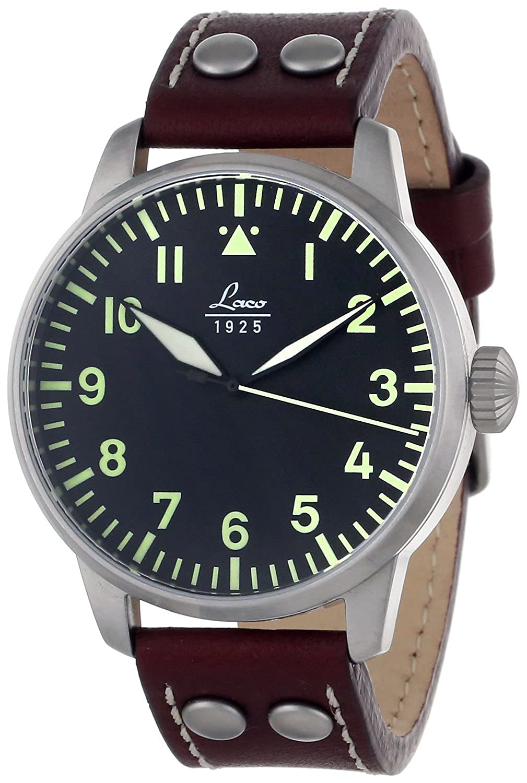 Laco Herren Armbanduhr Fliegeruhr AUGSBURG 861688