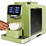 Mcilpoog WS-T6 Super-automatic Espresso Coffee Machine With Smart Touch Screen,System Design for Milk Tank Refrigeration For