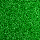 Nydotd Artificial Grass Rug, 40 x 40 inch Artificial Lawn 3.3 x 3.3 FT Synthetic Thick Lawn Green Turf Carpet (10.8 Square FT) Pet Grass Mat Fake Grass with Rubber Backing