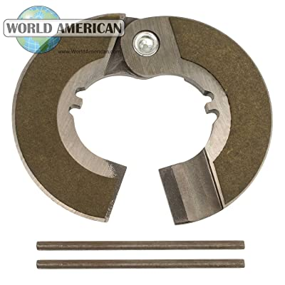 "World American 127175 Clutch Brake (1 3/4"" Hinged): Automotive"