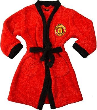 Boys - Manchester United Football Club Bath Robe Dressing Gown House ...