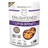 Enlightened Roasted Broad Bean Crisps - Cocoa Dusted