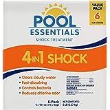 Pool Essentials Shock Treatment 6 Pack (13.4 oz Bags)
